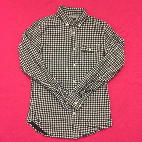 Banana Republic Other - Modern Banana Republic Checkered Button-Up Shirt